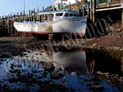 image of Boat at lowtide